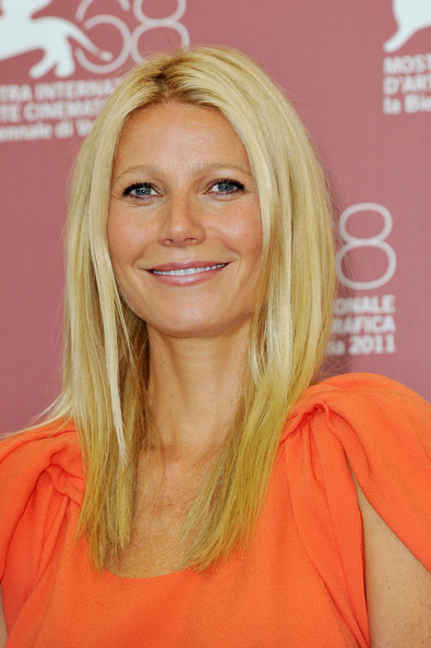 "Actress Gwyneth Paltrow poses at the ""Contagion"" photocall during the 68th Venice Film Festival at the Palazzo del Cinema on September 3, 2011 in Venice, Italy."