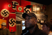 Allen West, a former U.S. Army lieutenant colonel an a 2010 Republican candidate for the United States Congress in Florida's District 22,  is seen in the Yad Vashem Holocaust Memorial museum on December 2, 2009 in Jerusalem, Israel. West, who resigned from the army in 2004 after being found guilty of assaulting an Iraqi police officer suspected of having information about planned attacks on American forces, is in Israel to attend a homeland security conference and meet with local law enforcement officials.