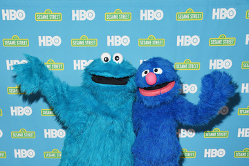 Cookie Monster  Sesame Street/HBO Event at the New York Public Library