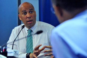 Corey Booker Senator Corey Booker Visits the SiriusXM Studios in Washington D.C. for a Sit-Down Interview