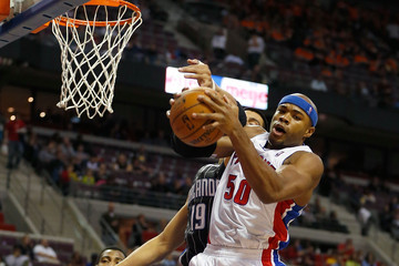 Corey Maggette Orlando Magic v Detroit Pistons
