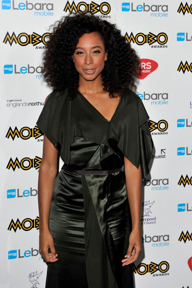 Corinne Bailey Rae Corinne Bailey Rae poses in the press room during the MOBO Awards 2010 at the Echo Arena on October 20, 2010 in Liverpool, England.