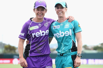 Corinne Hall WBBL - Hurricanes v Heat
