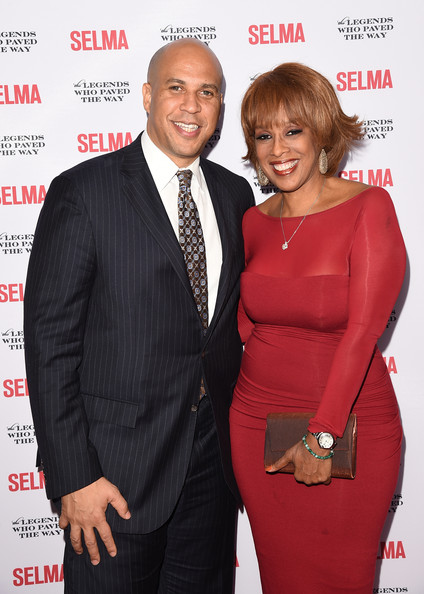 cory booker dating gayle king