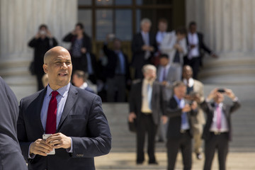 Cory Booker Supreme Court Hears Arguments In Historic Marriage Equality Case