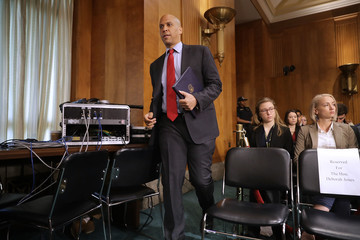 Cory Booker Senate Foreign Relations Committee Holds Hearing on the Crisis in Libya