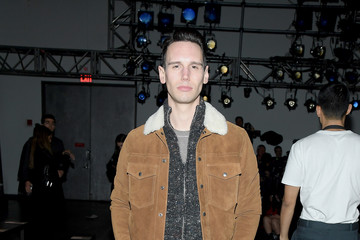 Cory Michael Smith Todd Snyder - Front Row - February 2018 - New York Fashion Week: Mens'