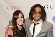 """Producer Adi Shankar (R) attends the """"Cosmopolis"""" premiere at the Museum of Modern Art on August 13, 2012 in New York City."""