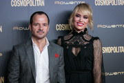(L-R) Angel Martin and Patricia Conde attend the Cosmopolitan Awards 2018 at Florida Park on October 18, 2018 in Madrid, Spain.