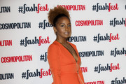 Jade Avia attends the Cosmopolitan #FashFest event at Battersea Evolution on September 18, 2014 in London, England.