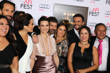 Cote de Pablo AFI FEST 2015 Presented By Audi Centerpiece Gala For Alcon Entertainment's 'The 33' - Red Carpet