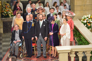 Count Christian de Lannoy Count Jehan de Lannoy The Wedding Of Prince Guillaume Of Luxembourg & Stephanie de Lannoy - Official Ceremony