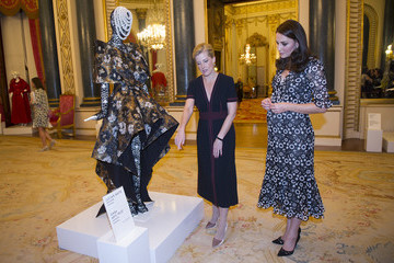 Countess of Wessex The Commonwealth Fashion Exchange Reception At Buckingham Palace