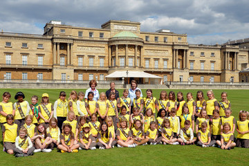 Countess of Wessex Tea Party Held for Brownies at Buckingham