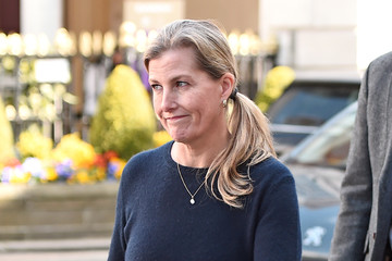Countess of Wessex Britain Continues Period Of National Mourning Following The Death Of Prince Philip, Duke Of Edinburgh