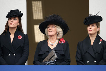 Countess of Wessex The UK Observes Remembrance Sunday