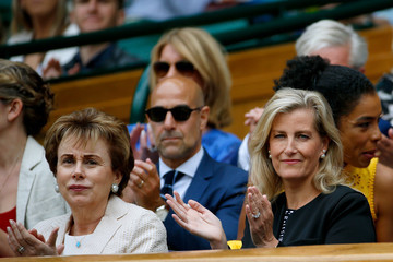 Countess of Wessex Day Ten: The Championships - Wimbledon 2017