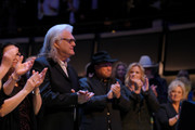 Ricky Skaggs is acknowledged during the 2018 Country Music Hall of Fame and Museum Medallion Ceremony honoring inductees Johnny Gimble, Ricky Skaggs and Dottie West at Country Music Hall of Fame and Museum on October 21, 2018 in Nashville, Tennessee.