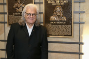 Ricky Skaggs admires his plaque at the 2018 Country Music Hall of Fame and Museum Medallion Ceremony honoring inductees Johnny Gimble, Ricky Skaggs and Dottie West at Country Music Hall of Fame and Museum on October 21, 2018 in Nashville, Tennessee.