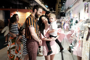 Kacey Musgraves and Ruston Kelly attend the Country Music Hall of Fame and Museum opening of new exhibition, Kacey Musgraves: All of the Colors, at Country Music Hall of Fame and Museum on July 01, 2019 in Nashville, Tennessee.