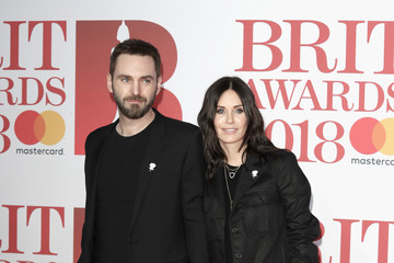 Courteney Cox The BRIT Awards 2018 - Red Carpet Arrivals