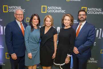 Courteney Monroe Tim Pastore National Geographic's Screening Of 'America Inside Out With Katie Couric' In Washington, DC