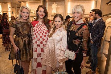 Courtney Kerr FENDI Dallas Highland Park Village Boutique Inauguration