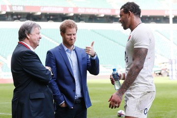 Courtney Lawes Celebrity Sillies Pictures of the Week - February 21