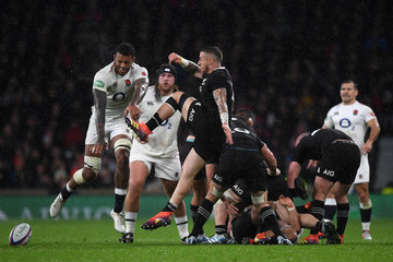 Courtney Lawes England vs. New Zealand - Quilter International