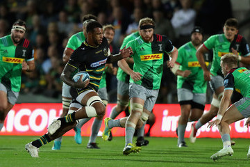 Courtney Lawes Northampton Saints vs. Harlequins - Gallagher Premiership Rugby