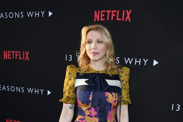 """Courtney Love Premiere Of Netflix's """"13 Reasons Why"""" - Arrivals"""