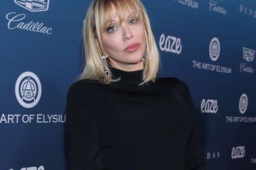 Courtney Love The Art Of Elysium Presents Michael Muller's HEAVEN - Arrivals