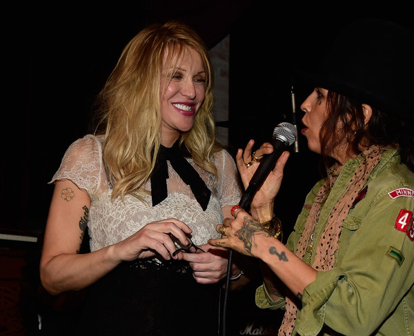 Courtney+Love+Linda+Perry+Celebration+So