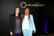 Sue Bird (L) and Jemele Hill (R) attend Courvoisier Cognac And UNINTERRUPTED Partner On First-Of-Its-Kind, Live Storytelling Event And Content Series at Goya Studios on July 09, 2019 in Los Angeles, California.