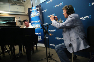 Cousin Brucie Charlie Day Visits the SiriusXM Studios