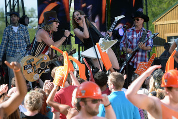 "Cowboy Troy Lizzy Hale Big & Rich Tape ""ESPN GameDay"" Opening - Day 2"