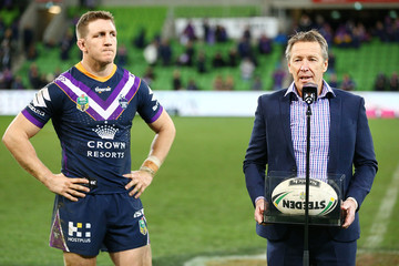 Craig Bellamy NRL Rd 25 - Storm vs. Panthers