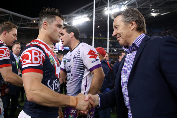 2018 NRL Grand Final - Storm v Roosters [nrl grand final - storm v roosters,sports,rugby league,rugby,rugby union,team sport,championship,team,player,competition event,ball game,craig bellamy,cooper cronk,anz stadium,sydney,australia,sydney roosters,melbourne storm,match,nrl grand final]