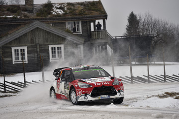 Craig Breen FIA World Rally Championship Sweden - Day One