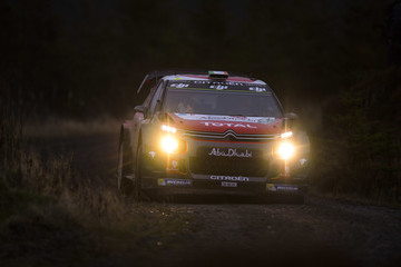 Craig Breen FIA World Rally Championship Great Britain - Day Two
