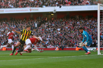Craig Cathcart Arsenal FC vs. Watford FC - Premier League