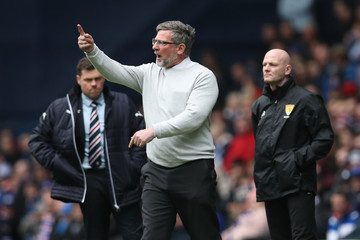Craig Levein Rangers vs. Hearts - Ladbrokes Scottish Premiership