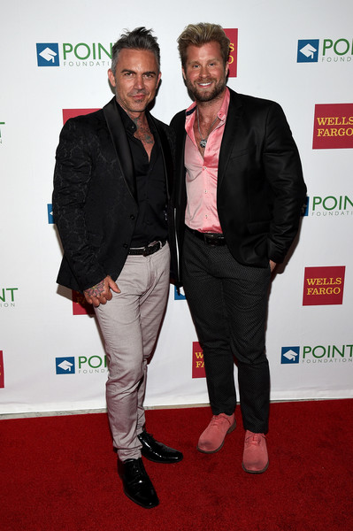 Point Honors Gala Honors Greg Louganis and Pete Nowalk - Arrivals [carpet,red carpet,event,premiere,suit,outerwear,flooring,blazer,formal wear,greg louganis,pete nowalk - arrivals,craig ramsay,brandon liberati,pete nowalk,honors,new york city,l,point honors gala]