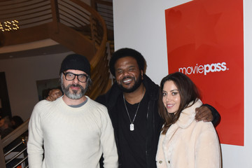 Craig Robinson Aubrey Plaza 'An Evening With Beverly Luff Lin' Dinner Presented by MoviePass