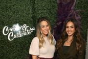 Lauren Conrad and Jessica Alba attend Create & Cultivate Los Angeles at Rolling Greens Los Angeles on February 22, 2020 in Los Angeles, California.
