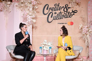 Ashley Graham and Jaclyn Johnson speak on stage at Create & Cultivate New York presented by Mastercard at Industry City on May 04, 2019 in Brooklyn, New York.