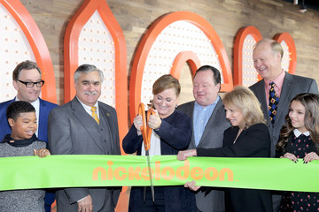 Cree Cicchino Ribbon Cutting Ceremony to Celebrate the Grand Opening of Nickelodeon's State-of-the-Art Complex