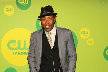 Cress Williams Celebs Arrive at the CW Upfront Event in NYC