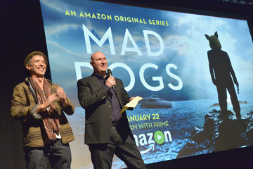 Cris Cole Red Carpet Premiere Screening For Amazon Original Series 'Mad Dogs'