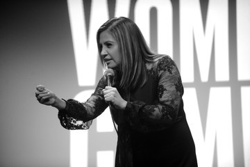 Cristela Alonzo ELLE Hosts Women in Comedy Event With July Cover Star Kate McKinnon
